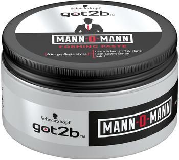 Got2b Mann-O-Mann Forming Paste 2 x 100 ml