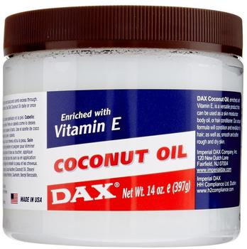 Dax Coconut Oil Enriched with Vitamin E 397g (insgesamt - 1191g)