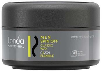 LONDA Professional Professional Men Spin Off Classic Wax 75 ml