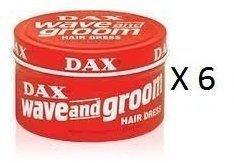 Dax Wave & Groom Wax 6 x 99 g