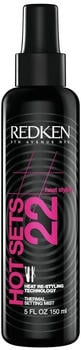 Redken Styling Heat Hot Sets 22 Thermal Setting Mist (150ml)