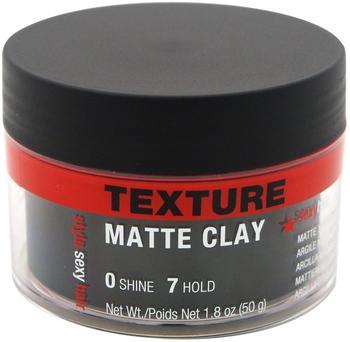 Sexyhair Style Sexyhair Matte Clay 50g