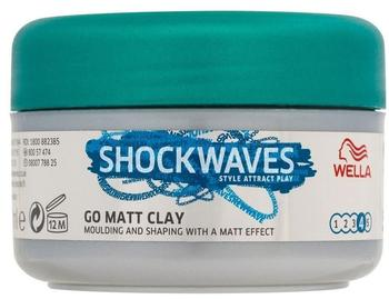 Wella Shockwaves Go Matt Clay 75 ml