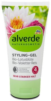 Alverde Naturkosmetik Styling-Gel Bio-Lotusblüte