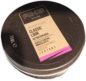 Axe Signature Clean Cut Look Classic Wax 75 ml