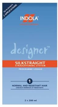Indola Designer Silkstraight Cream 200 ml + Neutraliser 200 ml