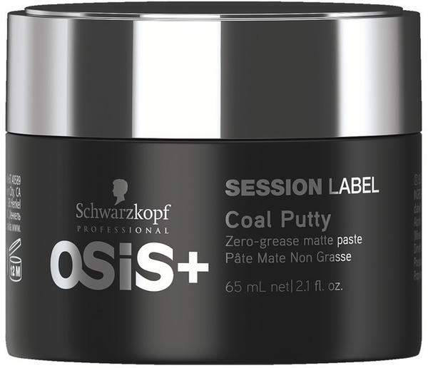 Schwarzkopf Osis+ Session Label Coal Putty (65ml)
