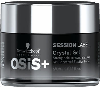 Schwarzkopf Osis+ Session Label Crystal Gel Strong Hold (65ml)
