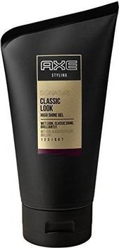 Axe Styling Signature Classic Look High Shine Gel (125ml)