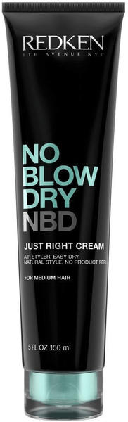 Redken No Blow Dry NBD Just Right Cream (150ml)