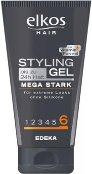 Elkos Hair Styling Gel Mega Stark