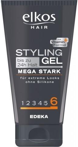 Elkos Hair Styling Gel Mega Stark