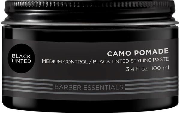 Redken Brews Camo Pomade Black Tinted (100 ml)
