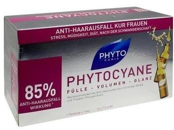 Phyto Phytocyane Revitalisierendes Anti-Haarausfall-Serum (12 x 75ml)