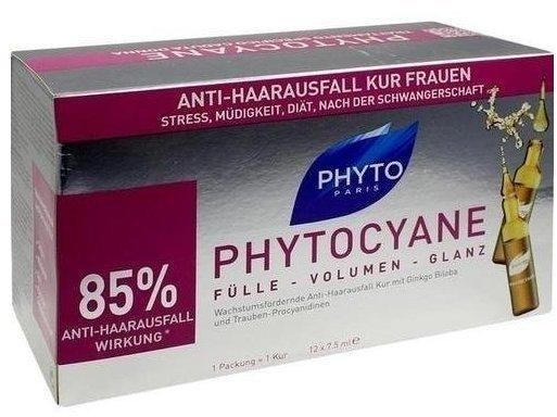 Phyto Phytocyane Densifying Treatment Serum (12 x 7,5 ml)