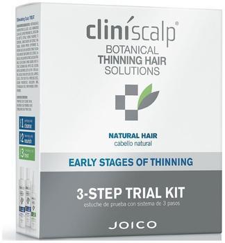 Joico Cliniscalp 3-Step Trial Kit natural hair - frühes Stadium (3 Stk)
