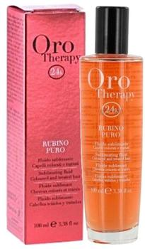 Fanola Oro Puro Therapy Fluid Rubino (100ml)