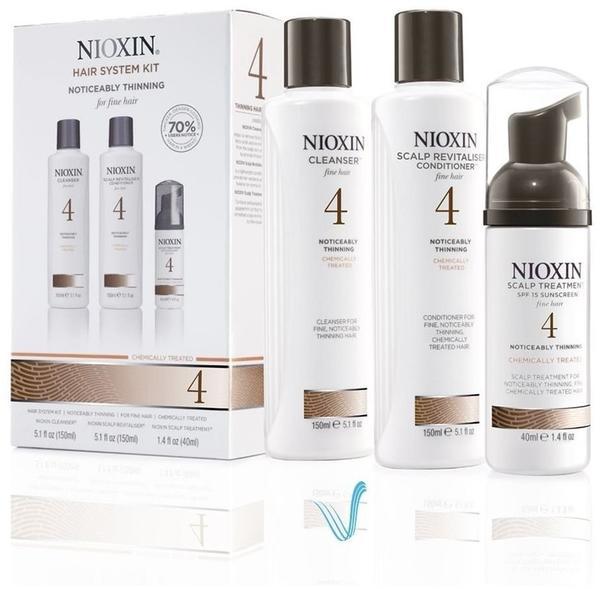 Nioxin Starter Set System 4 (3 Stk.)