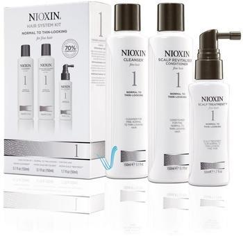 Nioxin Starter Set System 1 (3 Stk.)