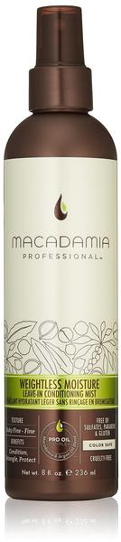Macadamia Professional Weightless Moisture Leave-In Conditioning Mist (236ml)