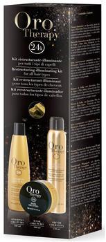 Fanola Oro Puro Therapy Luxury Hair Treatment Kit (3-tlg.)