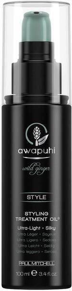 Paul Mitchell Awapuhi Wild Ginger Style Styling Treatment Oil (100ml)