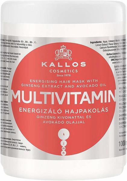 Kallos Cosmetics KJMN Multivitamin Hair Mask 1000 ml Hair Mask Energetisierung