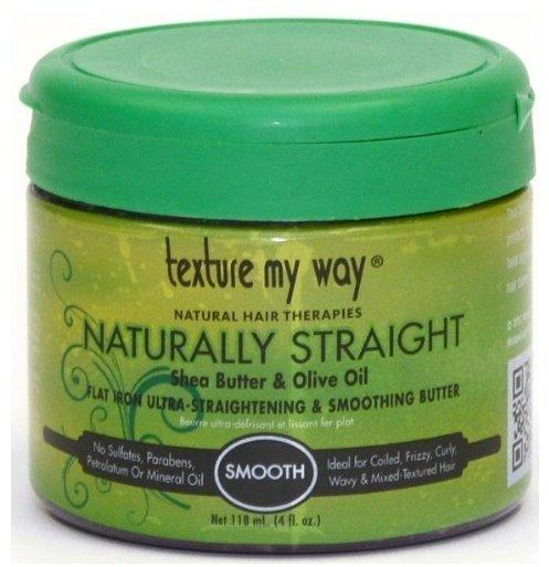 Africas Best Texture MY Way Naturally Straight Ultra Straightening Smoothing Butter 118ml