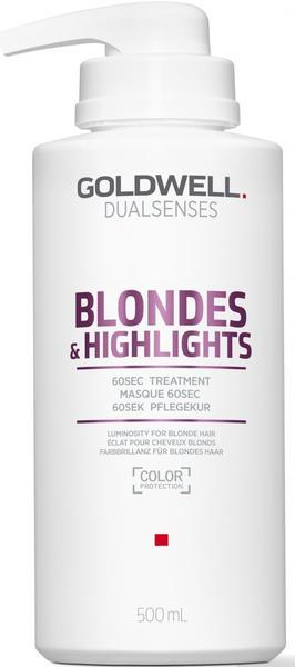Goldwell Dualsenses Blondes & Highlights 60sec Treatment (500ml)