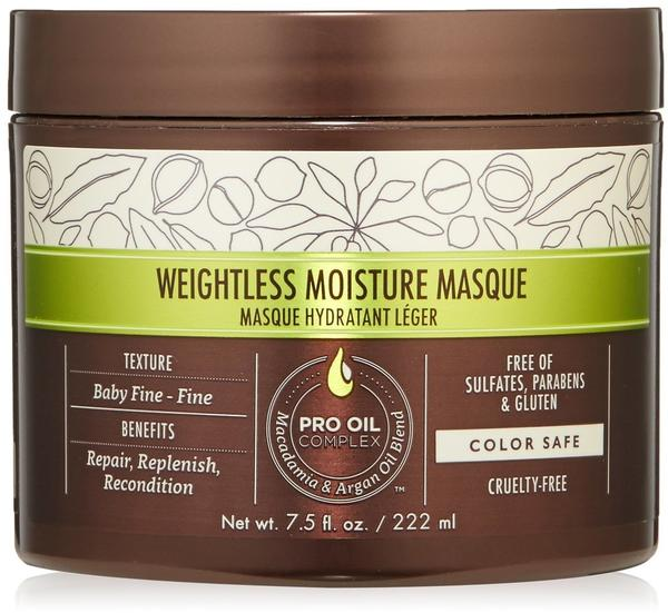 Macadamia Weightless Moisture Masque 222 ml