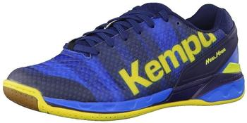 Kempa Attack One deep blue/lemon yellow