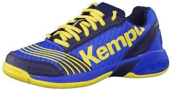 Kempa Attack One Junior deep blue/limon yellow