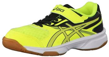 Asics Upcourt 2 PS safety yellow/dark grey/black