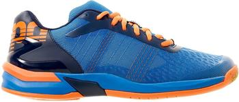 Kempa Attack Three Contender energy blue/navy/fluo orange