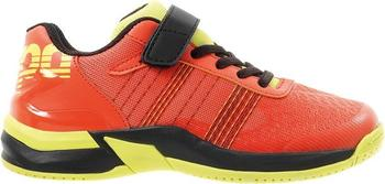 Kempa Attack Contender Junior tomato red/black/fluo yellow
