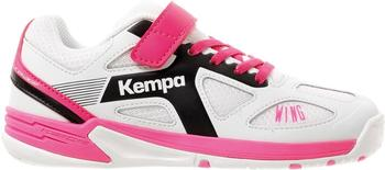 Kempa Wing Junior white/black/pink