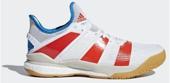 Adidas Stabil X ftwr white/solar red/bright blue