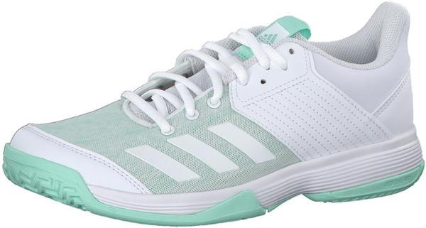 Adidas Ligra 6 Women ftwr white/ftwr white/clear mint Test | ab 27 ...