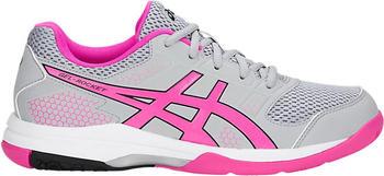 Asics Gel-Rocket 8 Women mid grey/pink glow