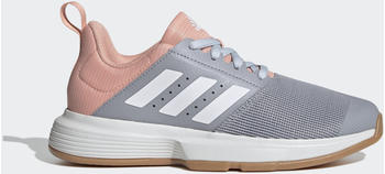 Adidas Essence Indoor Halo Silver/Cloud White/Glow Pink