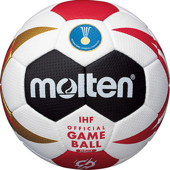 Molten Offizieller Replika-Ball der Handball-Weltmeisterschaft der Männer 2019 (Größe 2)