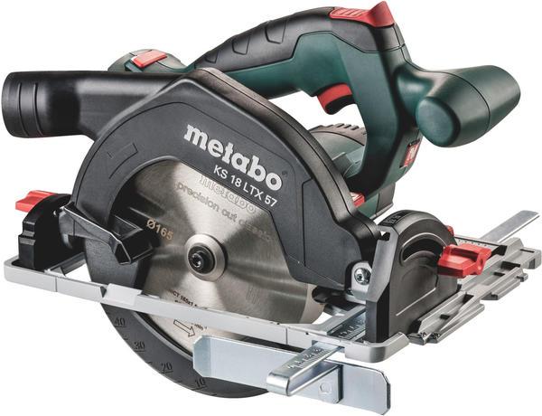 Metabo KS 18 LTX 57 Solo (ohne Akku + Ladegerät im MetaLoc-Koffer)