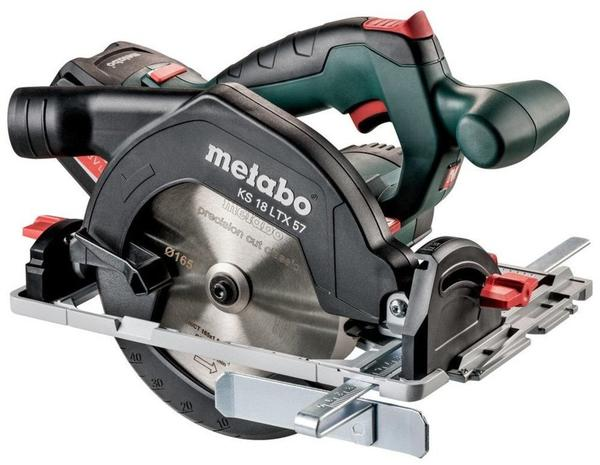 Metabo KS 18 LTX 57 (Akku 2x 18V 5,2Ah + Ladegerät im MetaLoc-Koffer)