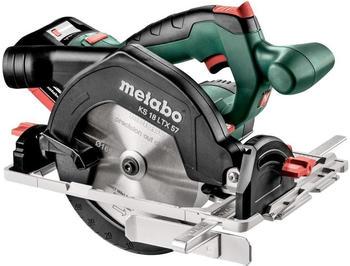 Metabo KS 18 LTX 57 (Akku 2x 18V 8,0Ah + Ladegerät im MetaLoc-Koffer)