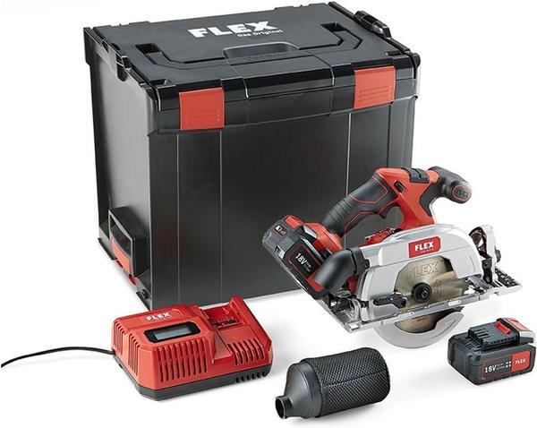 Flex-Tools CS 62 18.0-EC (2x Akku 18V 5,0Ah in L-Boxx)