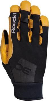 Roeckl Kholeno Gloves black/camel