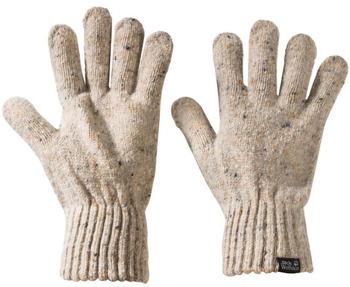 Jack Wolfskin Merino Glove sand dune