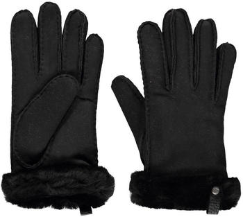 UGG Shorty Leather Trim Women black (17367)