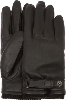 UGG Leather Belted Glove black (17455)