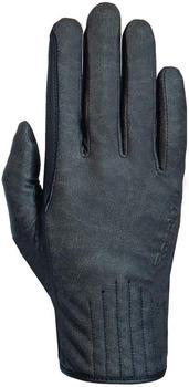 Roeckl Kido black stonewashed gray/black